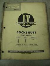 Cockshutt 20 30 40 50 Coop E2 E3 E4 E5 Tractor I&T Shop Service Manual