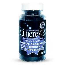 Extra Strength Energy Aid Fat Burner Stimerex 90ct New Formula