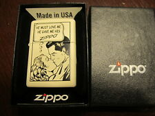 Brand New Must Love Me He Gave ME His Zippo With Orange Seal