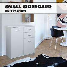White Sideboard Buffet Hallway Cabinet Entrance Storage Kitchen Cupboard Dresser