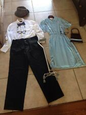 Adult UP Costumes Ellie And Carl S/L Homemade