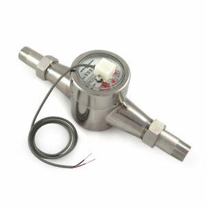 """EKM Metering 3/4"""" Water Meter - Stainless Steel, Pulse Output"""