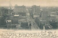ROCHESTER NY – Main Street looking East Birdseye View – udb – mailed 1908