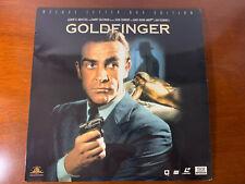 Goldfinger Deluxe Letter Box Edition James Bond Laserdisc Laser Disc LD