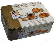 Tin Of Matilde Vicenzi  Fine Puff Pastries Millefoglie D'Italia Biscuits 330g