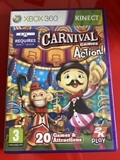 Carnival Games In Aktion-Microsoft Xbox 360 Party Spiel-Free UK p&p