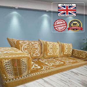 Arabic majlis floor sofa seating,floor cushions,bohemian furniture / SHI_FS308