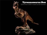 T Rex Tyrannosaurus Figure Statue Dinosaur Mode Base Collector Decor Boy Gift