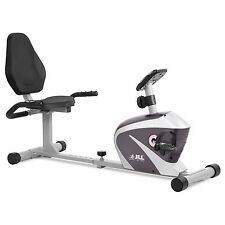 JLL RE100 Recumbent Magnetic Resistance Exercise Bike Cardio Fitness Workout