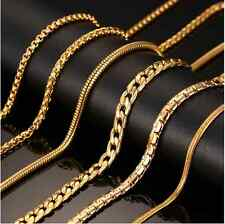 18 karate Gold plated Chain (24in)