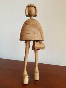 Holzfigur Kunstskulptur geschnitzt limitierte Auflage von Künstler Heinrich
