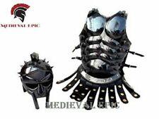 Medieval Epic Roman Muscle Armor Jacket W/ Maximus Gladiator Helmet