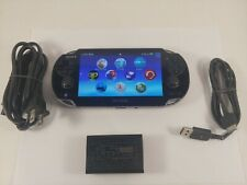Sony PS Vita - PCH-1001 4GB Black Handheld System W/Charger TESTED, WORKS GREAT!