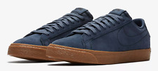 Nike SB Zoom Blazer Low Mens Suede Thunder Blue Skate Shoes Brand New Size UK 9