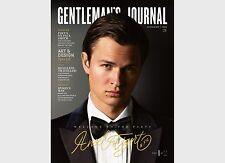 Gentleman's Journal magazine #21 JUL/AUG 2017 Ansel Elgort, Dyson, Paul Smith &
