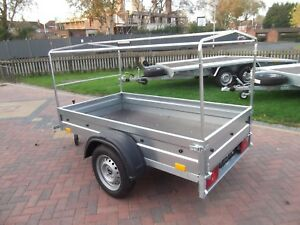 NEW Car camping box trailer + top COVER 80cm 750kg