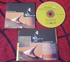Jazz Bossa Nova JOAO GILBERTO **João ** SCARCE 1998 SPAIN PROMO CD