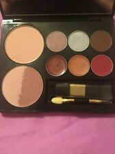 Beauty Face Palette Eye Shadows Lip Colors All Over Face Powder Blus