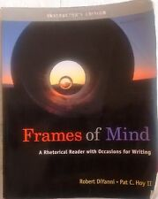 Frames Of Mind Rhetorical Reader Occasions For Writing 2009 Instructor's Edition