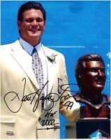 Dan Hampton Chicago Bears Autographed 8x10 Football Photo With HOF Inscription