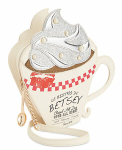 Betsey Johnson Brewed Crossbody / Shoulder Bag, NEW with Tags