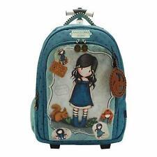 Trolley Santoro Gorjuss-mochila escuela primaria medio con carrito de compras-