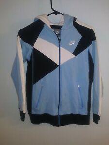 Nike Sportswear Swoosh Full Zip Track Sweatshirt Hoodie SZ Youth Medium 10/12