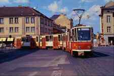 metal sign 542086 tatra kt4d articulated tram potsdam eastern germany a4 12x8 al