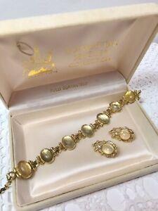 Vintage Estate Bracelet And Earrings