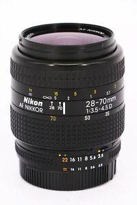NIKON Nikkor AF 28-70mm f/3.5-4.5 D    Professionally tested