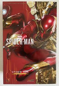 Ready! Hot Toys VGM38 MARVEL'S SPIDER-MAN 1/6 SPIDER-MAN (IRON SPIDER ARMOR) New