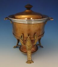 Joseph Heinrichs Lobster Pot Copper & Bronze with 3-D Lobsters (#0195)