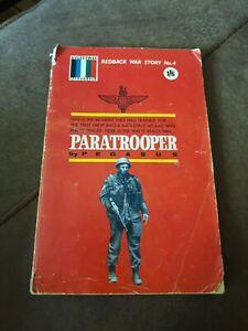 Redback War Story No 4 - Paratrooper - PB - 1963 - 1st Edition - Pegasus