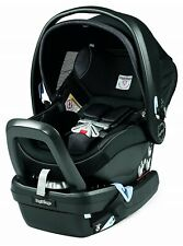 Peg Perego Primo Viaggio 4-35 Nido Infant Baby Car Seat & Load Leg Base Onyx