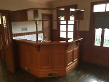 Bar - counter, cupboards & sink