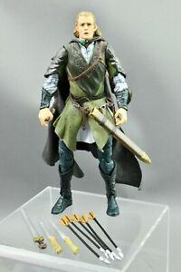 "Lord of the Rings Legolas Rohan Armor 6"" Toybiz"