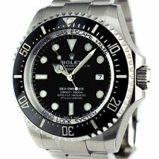 ROLEX - NEW 2019 Mens Stainless DEEPSEA SeaDweller Black 126660 - SANT BLANC