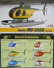 Hughes MD-500 D mit Schwimmern,1:72, Profiline, Plastik, NEU