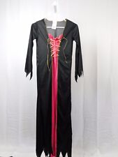 Vampire, Witch Girl's Halloween Costume Dress - Pink - Child 12-14 Large #5360