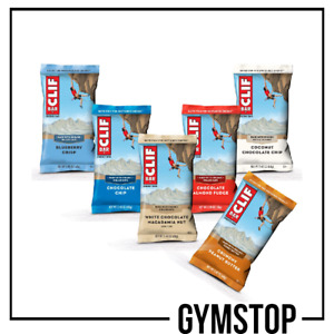 Clif Bar 12 x 68g | Protein Bars | Free UK Delivery |