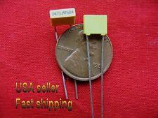 50 pcs  - .047uf  (0.047uf)  63v  5%  radial metalized film poly