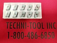 "3 Greenleaf RPGT 43-TF G-920 1//2/"" Diameter Carbide Milling Inserts"