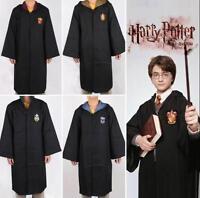 Adult Harry Potter Gryffindor/Slytherin/Hufflepuff/Ravenclaw Robe Cloak Cape
