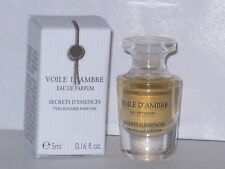 VOILE D'AMBRE YVES ROCHER EAU DE PARFUM MINI/TRAVEL SIZE 0.16 fl.oz/ 5 ml NEW !
