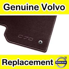 Genuine Volvo C70 (06-) Textile Floor Mats (RHD Manual Colour: Offblack)
