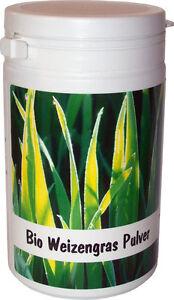 SANOS  Bio Weizengras Pulver 100g feinst vermahlen, aus eigenem Anbau