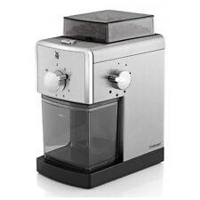WMF Stelio Edition Kaffeemühle Cromargan Scheibenmahlwerk aus Stahl