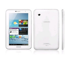 "Samsung Galaxy Tab 2 8GB 3G Android 7"""" tablet Gt-p3100 3.15mp blanco White"