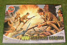 AIRFIX 1/72nd SCALE WORLD WAR I AMERICAN INFANTRY A01729