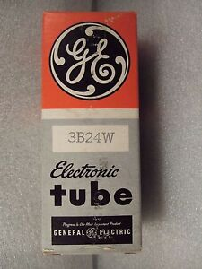 GE  3B24W Electronic Vacuum Tube in box & wrapper Sold untested